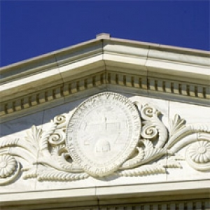 crest on waterman building