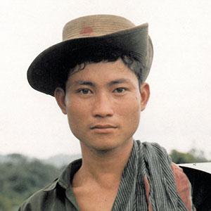"Detail of Chan Chao's ""Karen Rebel,"" 1996"