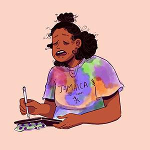 Self-portrait of Robyn Smith