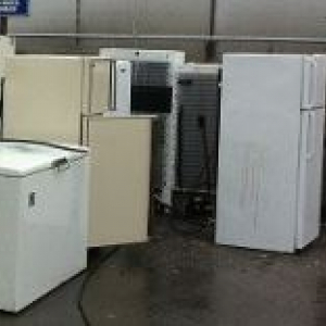Appliances including refrigerators, freezers, air conditioners and microwaves