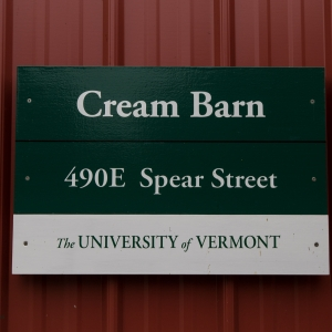 CREAM Barn building plaque