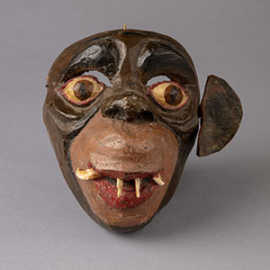 Image of a Mexican monkey mask