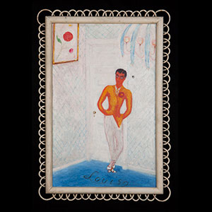 "Image of Florine Stettheimer's ""Portrait of Louis Bernheimer"""