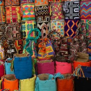 market in Cartagena, Colombia