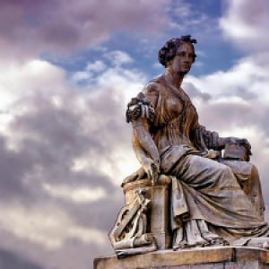 Paris, France statue