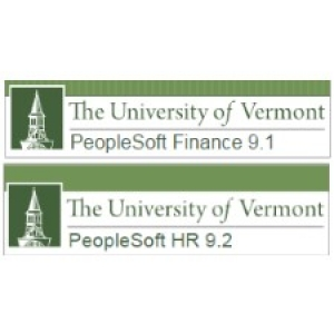 UVM PeopleSoft systems