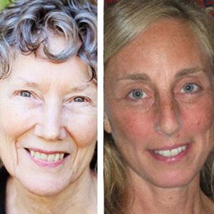 Sue Burton and Sara London