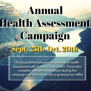 Health Assessment Campaign Banner