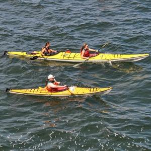 Apostle Island National Lakeshore kayakers. Photo by National Park Service