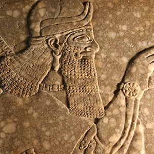 Detail of the Assyrian Relief
