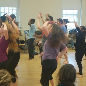 African Forms dance class