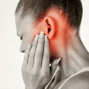 Person experiencing tinnitus
