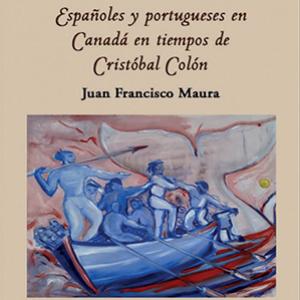 Españles y portugueses en Canadá en tiempos de Cristóbal Colón book cover