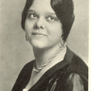 Portrait of Edna Hall Brown