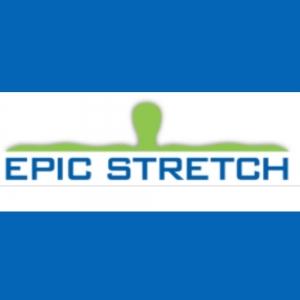 Square epic stretch logo