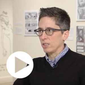 Across the Fence covers the Fleming's exhibtion on Alison Bechdel