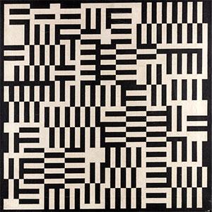 """Ernst Benkert's """"Half-Inch Grid,"""" 1962"""