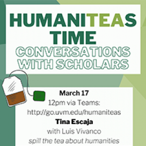HumaniTEAS ad poster