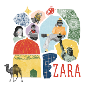 Logo for Zara, the one person show