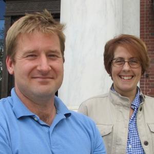 Tom Chittenden and Jen Prue