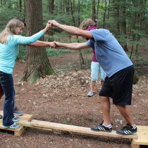 Getting help across the balance board