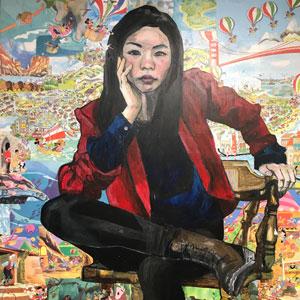 "Misoo's ""The Giant Asian Girl-Misoo 4,"" 2019"