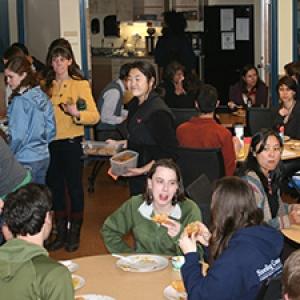 Multicultural dinner