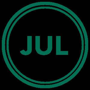 July Calendar Icon