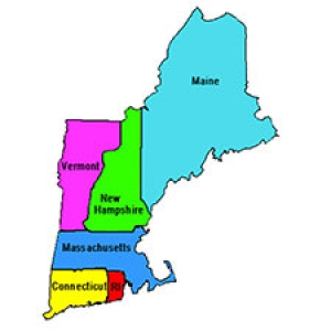map of new england states