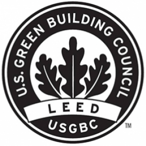 US Green Building Design badge -- LEED
