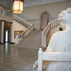 The Fleming Museum of Art's Marble Court
