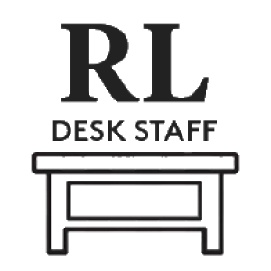 RL desk staff logo