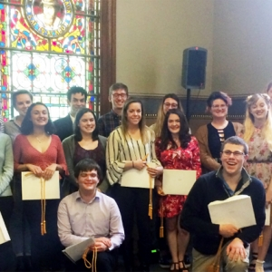English Departmental Honors Day Ceremony, 2018.