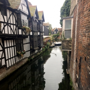 Canal in Canterbury, England. Photo by Buckham Scholar Jesse Keel.
