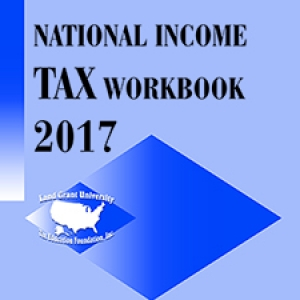 cover of national income tax workbook 2017