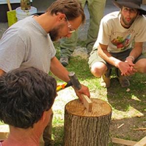 Woodworking demo
