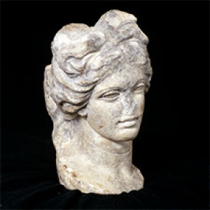 Roman head sculpture from the Ancient Collection