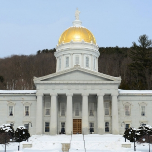 Vermont Statehouse, Image Courtesy Friends of the Vermont Statehouse