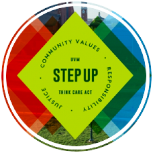Step Up logo with the text step up