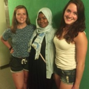 picture of three women RAs