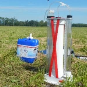 Soil Moisture Sensor in the Field