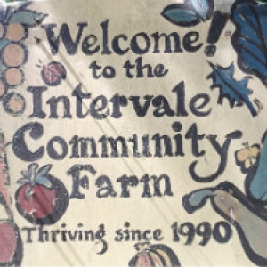 Intervale Community Farm Sign