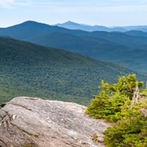 View from top of Mount Mansfield