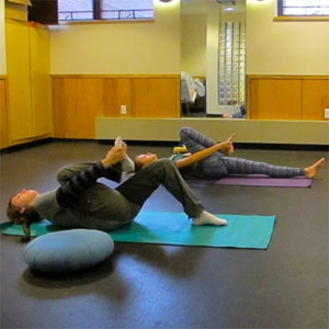 students - campus activities - yoga class