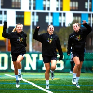 Womens lacrosse training