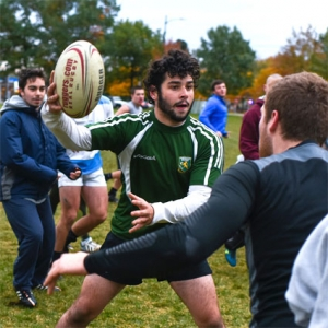 students - campus activities - rugby