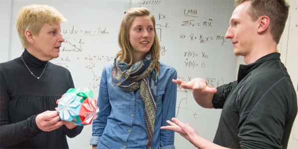 Student and faculty engagement in the classroom is typical at UVM