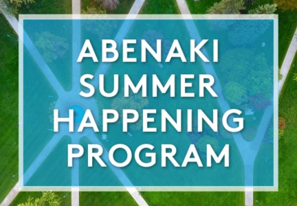 Abenaki Summer Happening Program