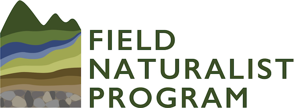 Field Naturalist Program logo - graphic of layered landscape