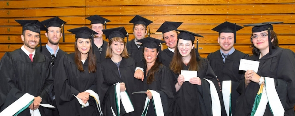 Secondary Education MAT 2017 cohort at graduation